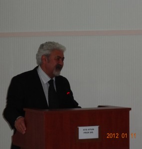 Prof. Dr. Ata ATUN'un GKK Konferansı