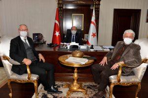 02.17.21-KKTC CB Ersin Tatar ve Toplantı-1