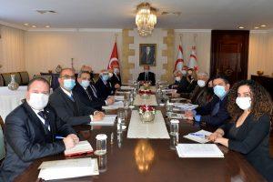 02.17.21-KKTC CB Ersin Tatar ve Toplantı-2
