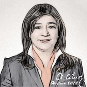 Çalışma ve Sosyal Güvenlik Bakanı Şerife Ünverdi by Ata ATUN