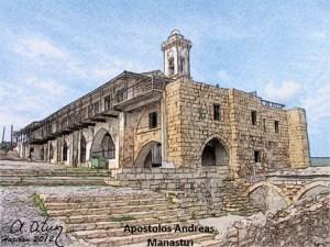 Apostolos Andreas manastırı by Ata ATUN