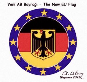AB'nin Yeni Bayrağı - New Flag of EU by Ata ATUN