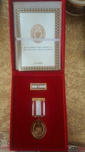 KKTC Milli Mücadele Madalya, Rozet ve Beratı