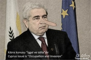 The Great Lie of Greeks, Cyprus Issue is Occupation and Invasion by Ata ATUN