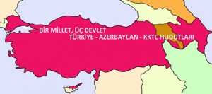 Change in Borders of Turkey and Azerbaijan by Ata ATUN