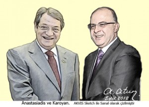 Anastasiades and Karoiyan by Ata ATUN