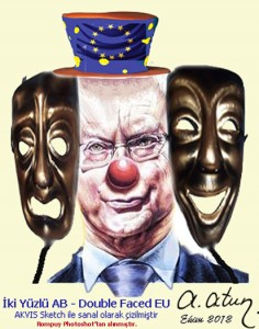 Double Faced European Union by Ata ATUN