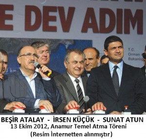 Ceremony of Water Supply from Anatolia to Cyprus by Ata ATUN