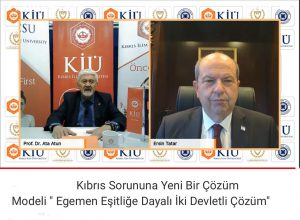 KKTC Cumhurbaşkanı Ersin Tatar e-Konferansı