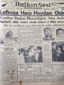23.12.1963-Halkın Sesi-Kıbrıs Harp Meydanı oldu-JPG