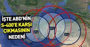 Türkiye'nin aldığı S-400'lerin vuruş menzili