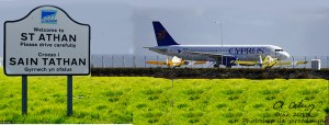 Cyprus Airways- St Athan Airport