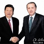 Erdogan ve Xi Jinping by Ata ATUN