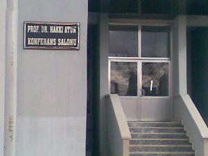 Prof. Dr. Hakkı ATUN Konferans Salonu